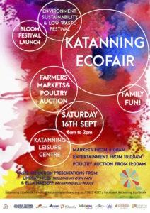 Katanning EcoFair, EcoWeek, Bloom Festival, farmer's market, poultry auction, festival, Ella Maesepp, Lindsay Miles, sustainability