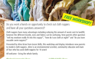 Learn how to Cloth Nappy – workshops coming to Ellenbrook, Beechboro and Guildford